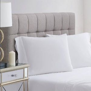 400 Thread Count Solid Percale Pillowcase Set